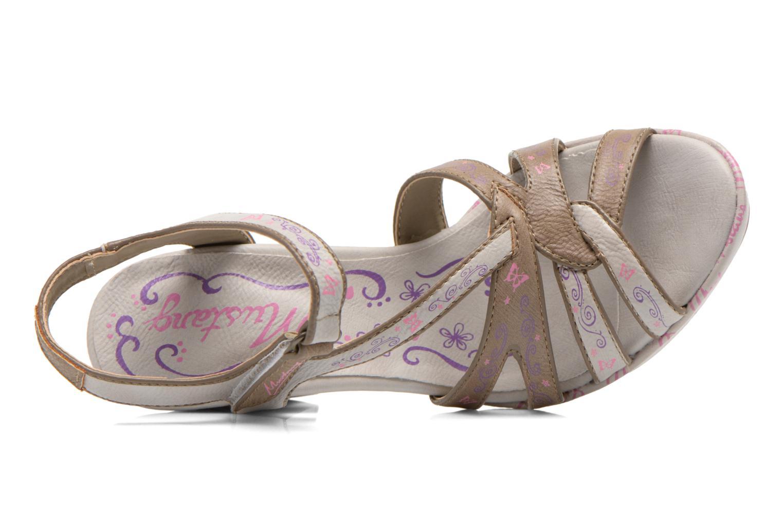 Sandales et nu-pieds Mustang shoes Esplash Multicolore vue gauche
