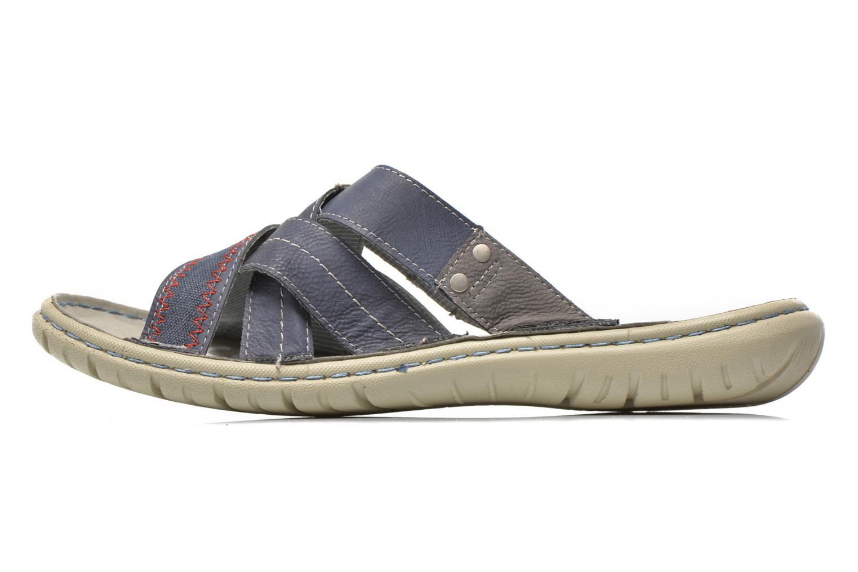Sandaler Mustang shoes Silleul Blå se forfra
