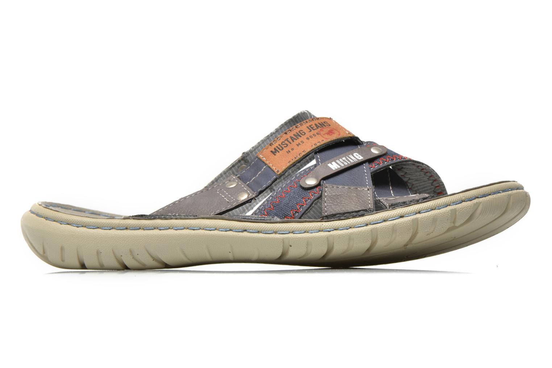 Sandaler Mustang shoes Silleul Blå se bagfra