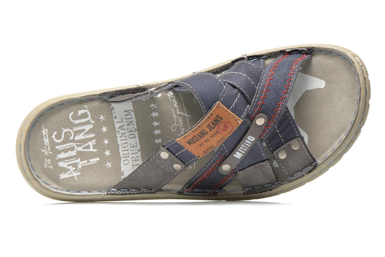 Sandaler Mustang shoes Silleul Blå se fra venstre
