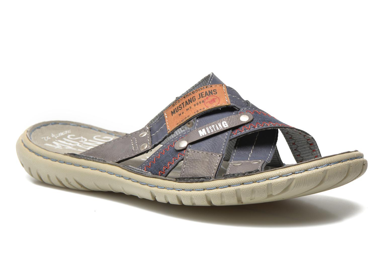 Sandaler Mustang shoes Silleul Blå detaljeret billede af skoene