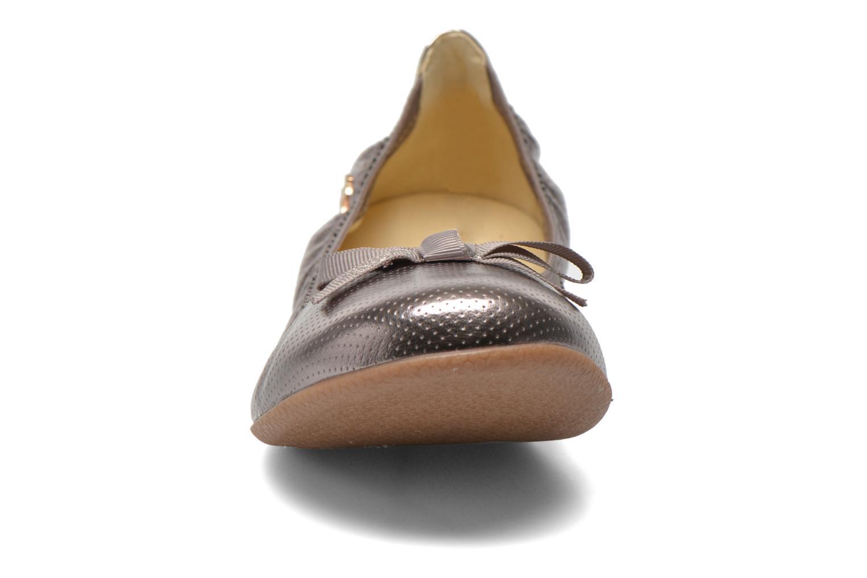 Ballerines Le temps des cerises Lilou II Gris vue portées chaussures