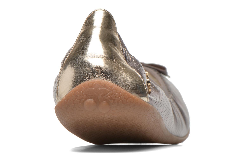 Bailarinas Le temps des cerises Lilou II Gris vista lateral derecha