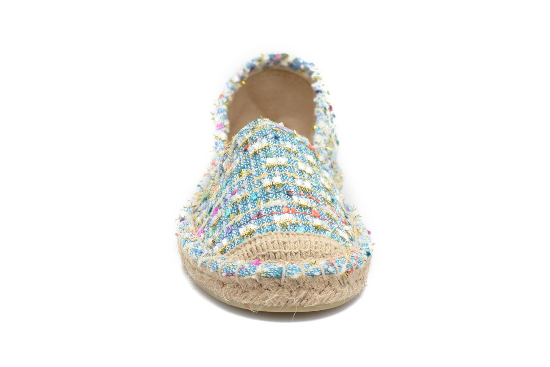 Espadrilles Le temps des cerises Venice Multicolore vue portées chaussures