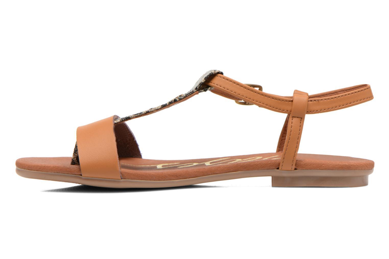 Sandales et nu-pieds Le temps des cerises Carly Multicolore vue face
