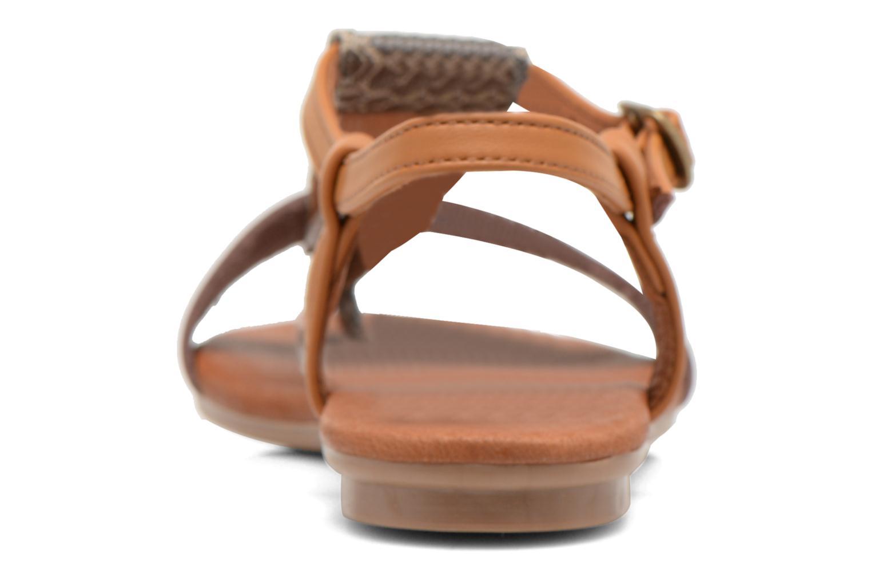 Sandales et nu-pieds Le temps des cerises Carly Multicolore vue droite