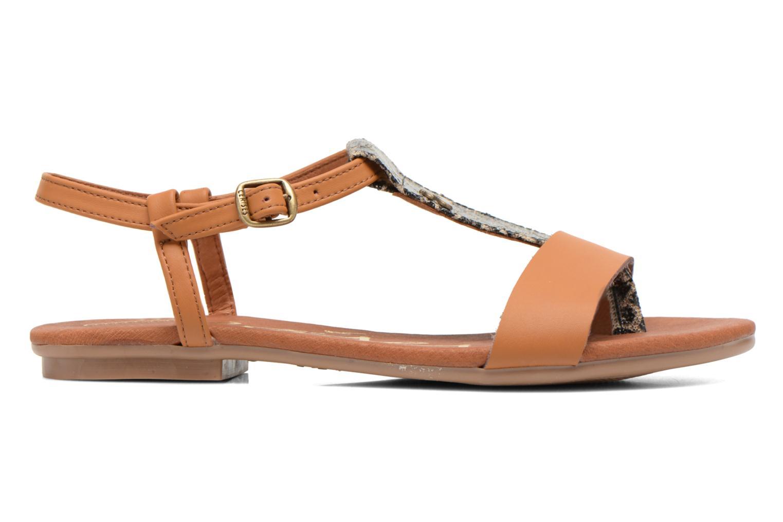 Sandales et nu-pieds Le temps des cerises Carly Multicolore vue derrière