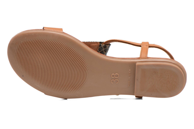 Sandales et nu-pieds Le temps des cerises Carly Multicolore vue haut