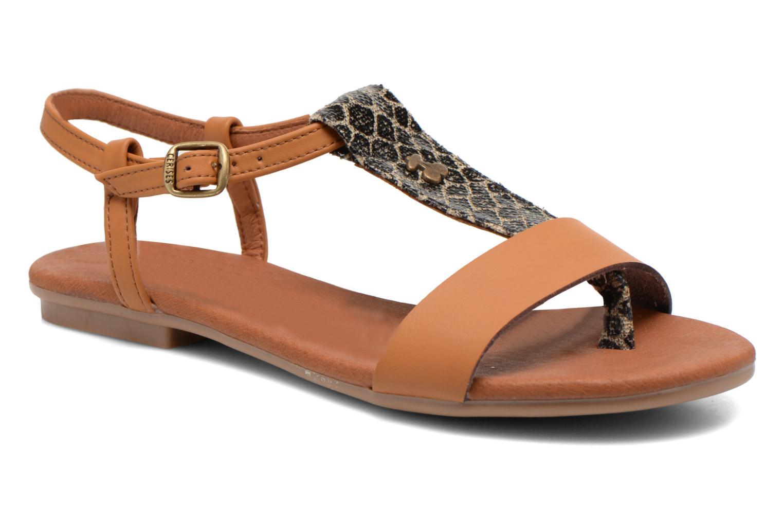 Sandales et nu-pieds Le temps des cerises Carly Multicolore vue détail/paire