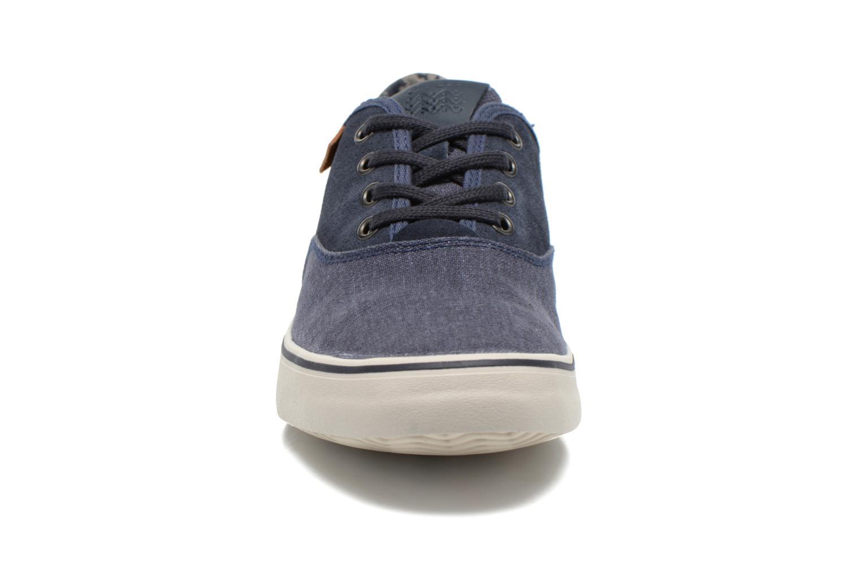 Baskets Geox U SMART B U62X2B Bleu vue portées chaussures