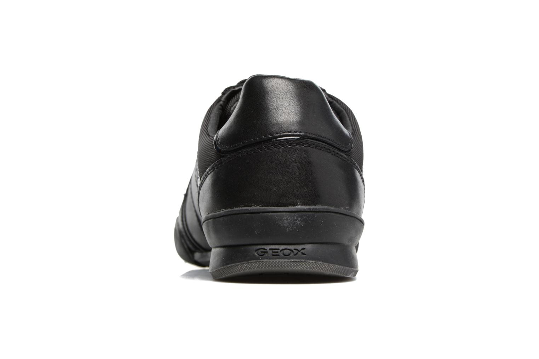 Baskets Geox U KRISTOF A U620EA Noir vue droite