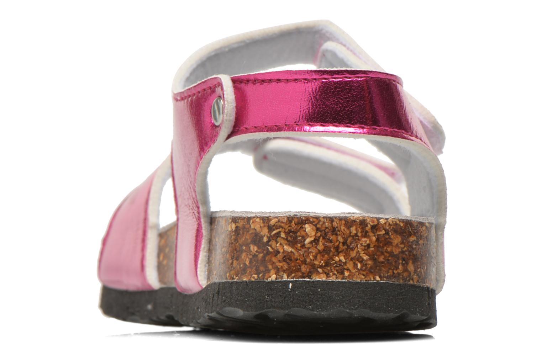 Sandales et nu-pieds Colors of California Bio Laminated Sandals Rose vue droite
