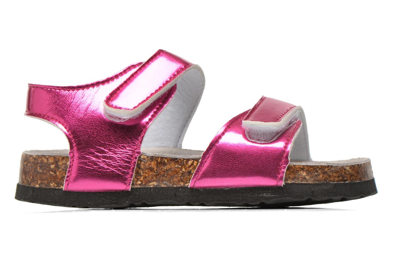 Sandalias Colors of California Bio Laminated Sandals Rosa vistra trasera