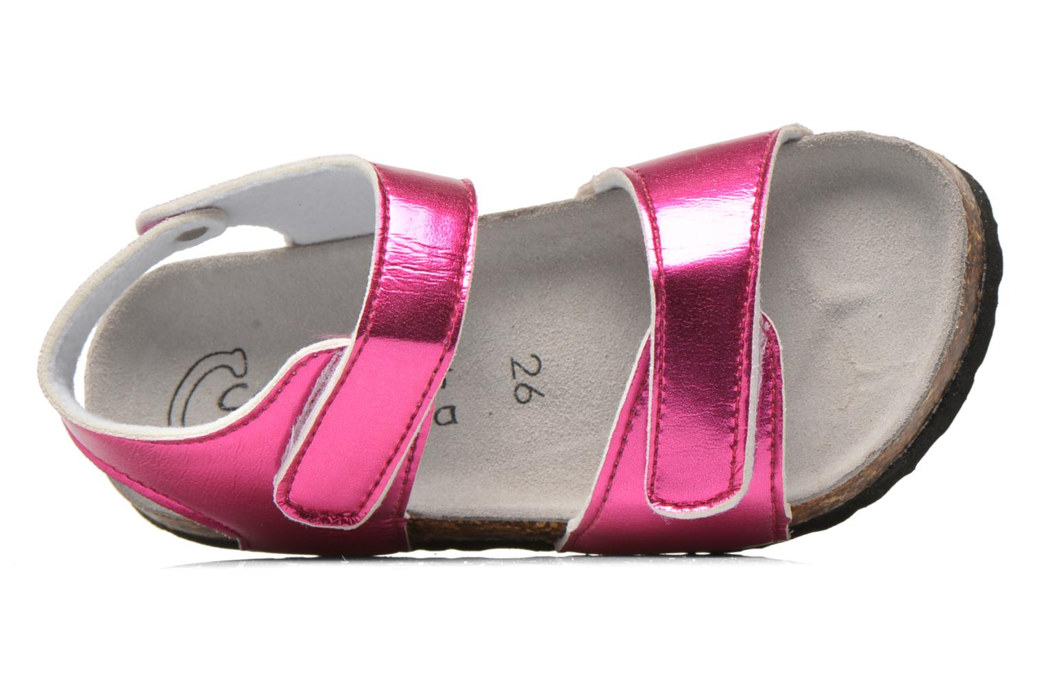 Sandalen Colors of California Bio Laminated Sandals rosa ansicht von links