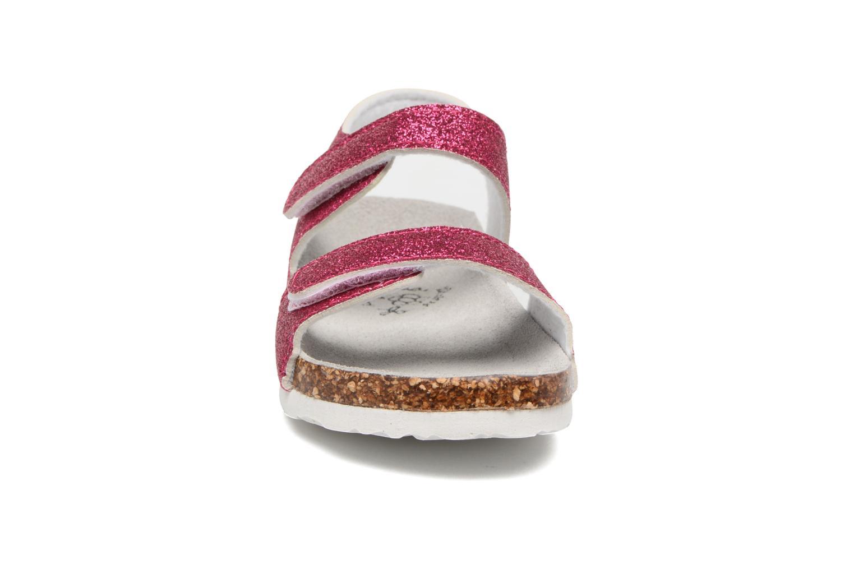 Bio Laminated Sandals Fux/Glitter