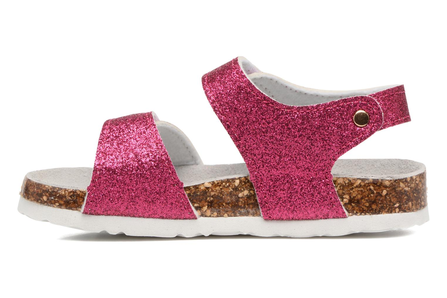 Sandals Colors of California Bio Laminated Sandals Pink front view