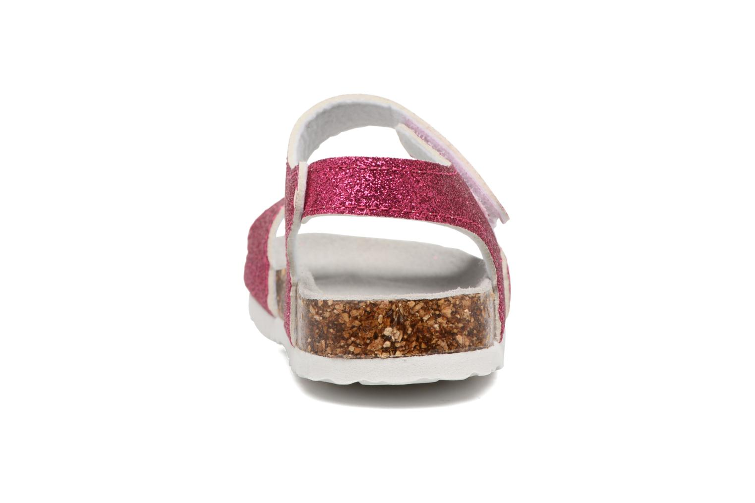 Sandali e scarpe aperte Colors of California Bio Laminated Sandals Rosa immagine destra