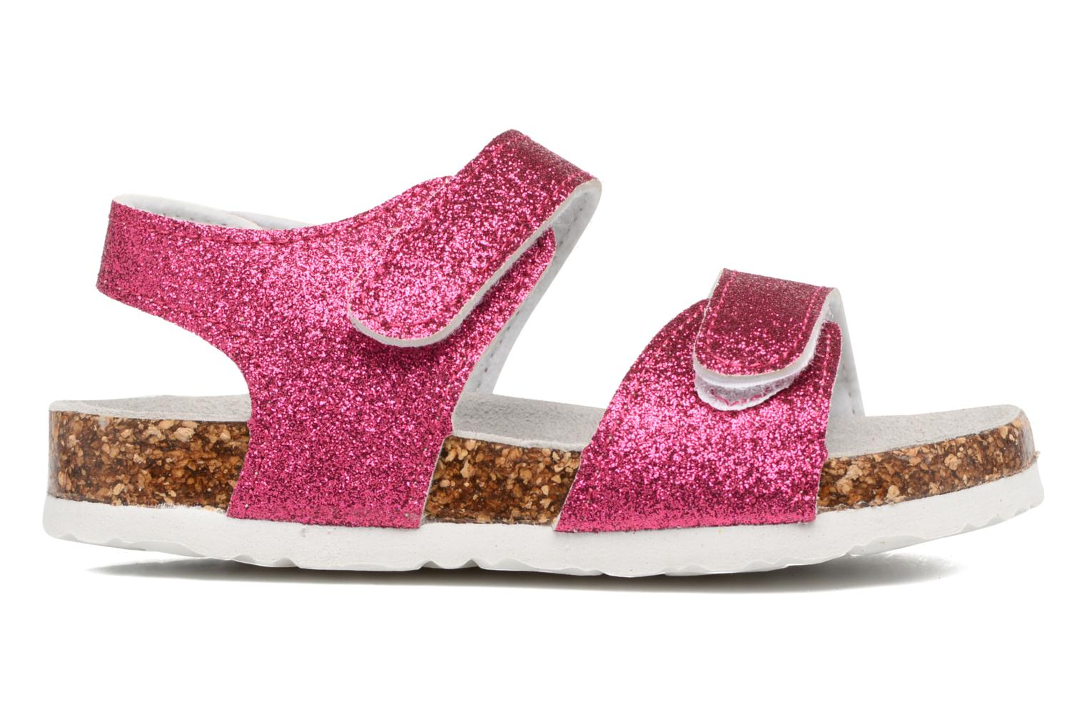 Sandals Colors of California Bio Laminated Sandals Pink back view