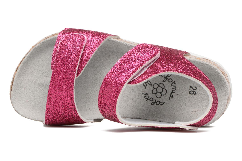 Sandalen Colors of California Bio Laminated Sandals rosa ansicht von links