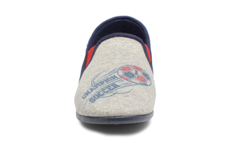 Pantofole Rondinaud Fanon Grigio modello indossato