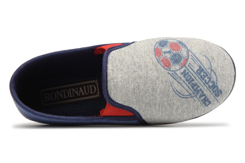 Pantofole Rondinaud Fanon Grigio immagine sinistra
