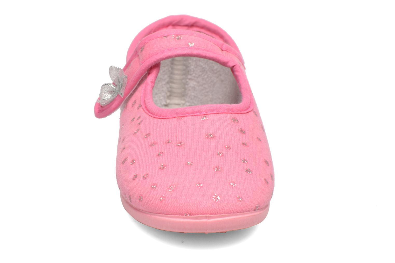 Chaussons Rondinaud Eva Rose vue portées chaussures
