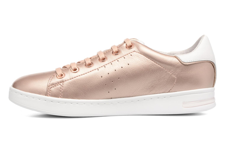 Sneakers Geox D JAYSEN A D621BA Goud en brons voorkant