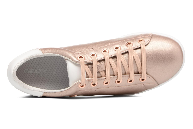 Sneakers Geox D JAYSEN A D621BA Goud en brons links