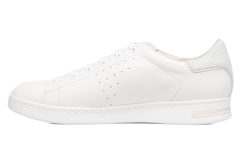 Sneaker Geox D JAYSEN A D621BA weiß ansicht von vorne