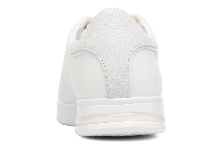 Sneakers Geox D JAYSEN A D621BA Wit rechts