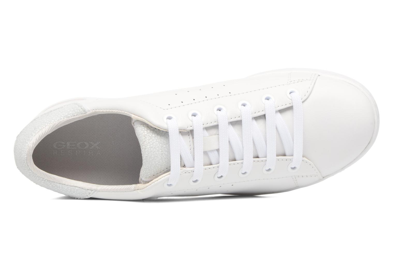 Sneakers Geox D JAYSEN A D621BA Wit links