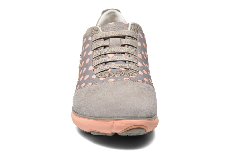 Baskets Geox D NEBULA C D621EC Multicolore vue portées chaussures