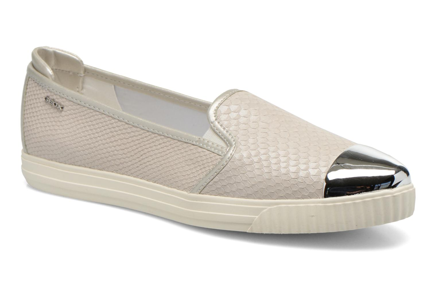 Marques Chaussure femme Geox femme D AMALTHIA D D621MD Off white/Silver