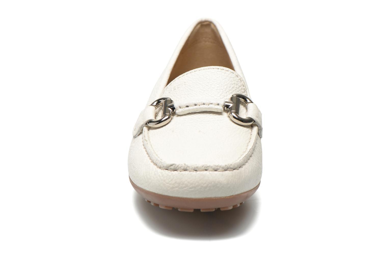 Mocassins Geox D EUXO D D6245D Blanc vue portées chaussures