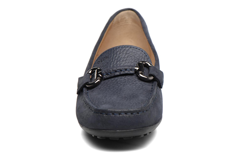 Mocassins Geox D EUXO D D6245D Noir vue portées chaussures