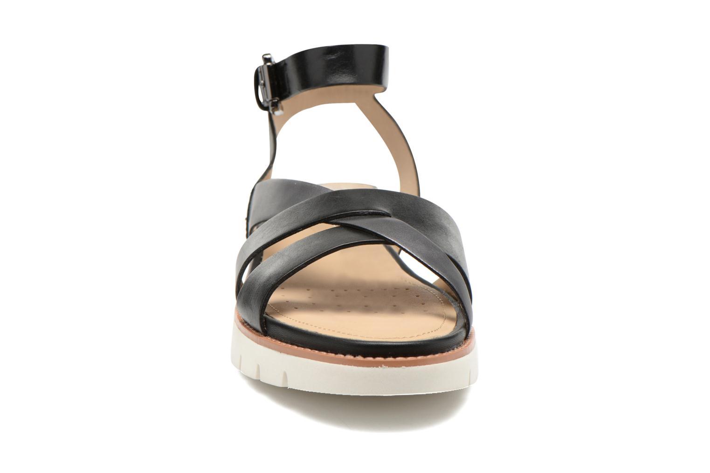 Sandales et nu-pieds Geox D DARLINE B D621YB Noir vue portées chaussures
