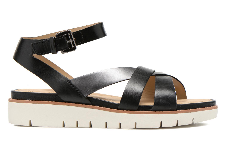 Sandales et nu-pieds Geox D DARLINE B D621YB Noir vue derrière