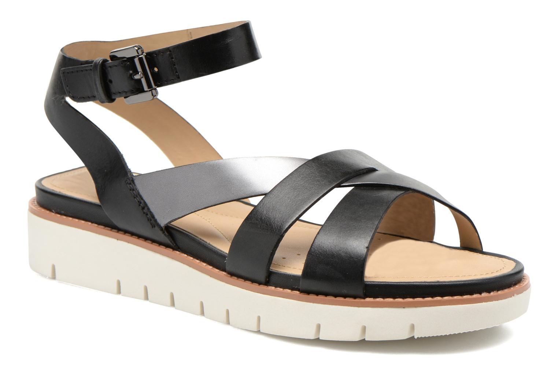 Sandales et nu-pieds Geox D DARLINE B D621YB Noir vue détail/paire