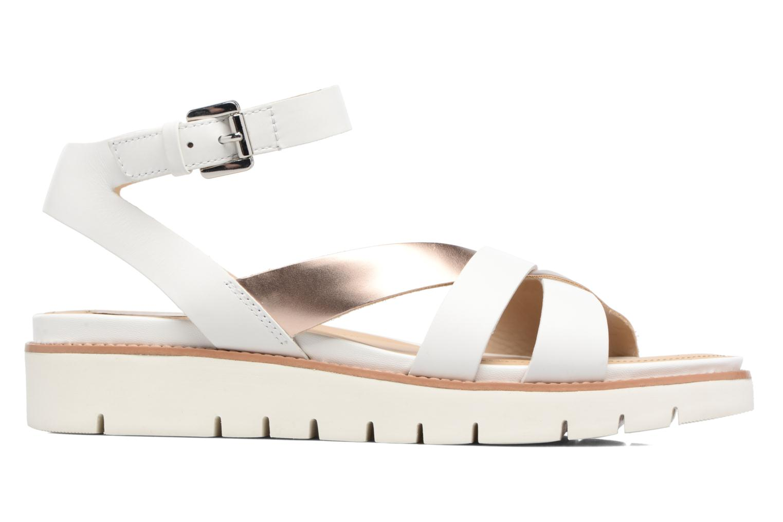 Sandales et nu-pieds Geox D DARLINE B D621YB Blanc vue derrière