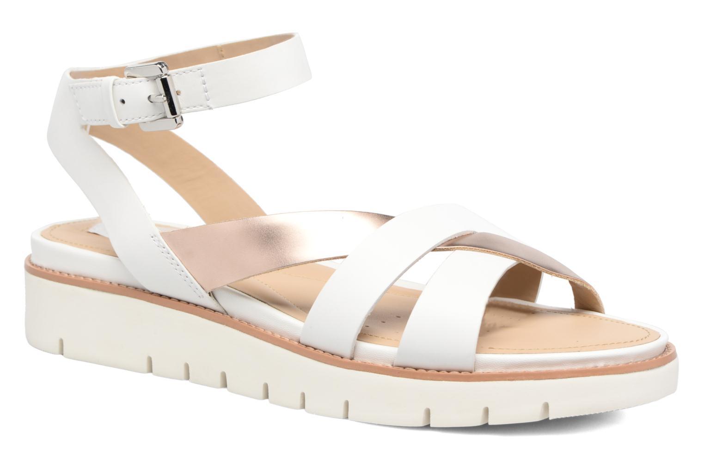 Sandales et nu-pieds Geox D DARLINE B D621YB Blanc vue détail/paire