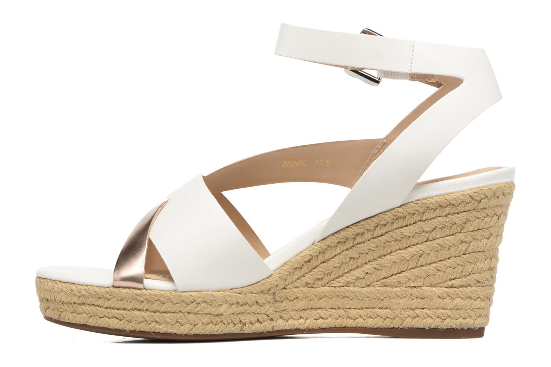 Sandali e scarpe aperte Geox D SOLEIL C D62N7C Bianco immagine frontale