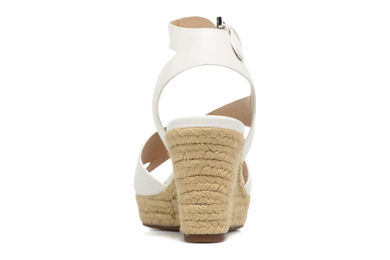 Sandali e scarpe aperte Geox D SOLEIL C D62N7C Bianco immagine destra