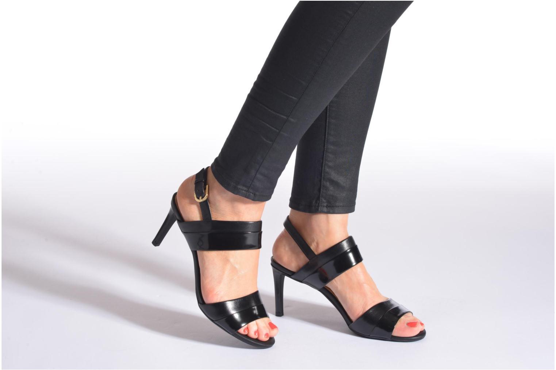 Sandales et nu-pieds Geox D AUDIE B D621TB Noir vue bas / vue portée sac