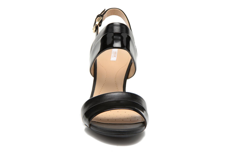 Sandales et nu-pieds Geox D AUDIE B D621TB Noir vue portées chaussures