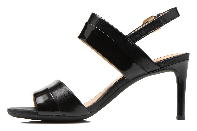 Sandales et nu-pieds Geox D AUDIE B D621TB Noir vue face