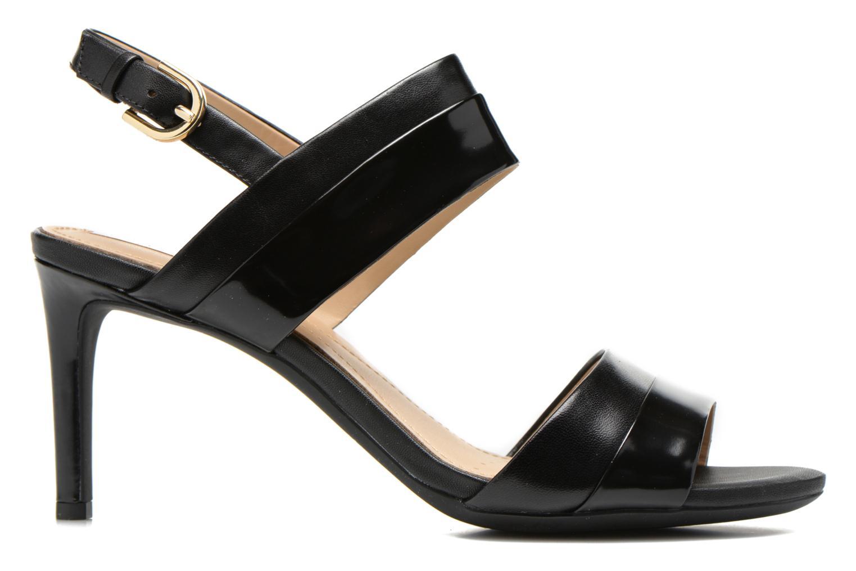 Sandales et nu-pieds Geox D AUDIE B D621TB Noir vue derrière