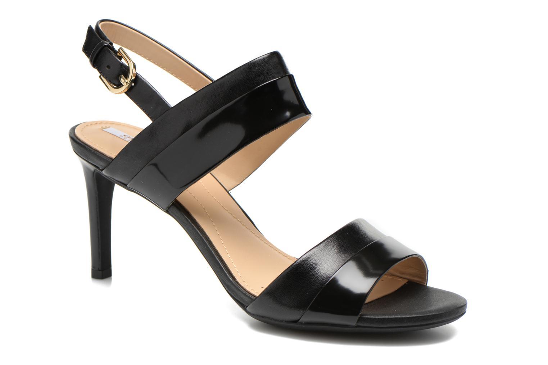 Sandales et nu-pieds Geox D AUDIE B D621TB Noir vue détail/paire
