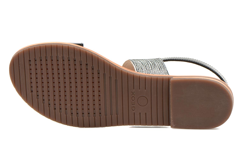 Sandales et nu-pieds Geox D SOZY A D622CA Noir vue haut