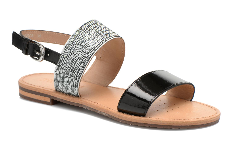 Sandales et nu-pieds Geox D SOZY A D622CA Noir vue détail/paire