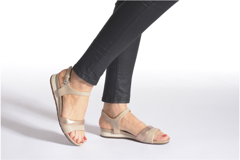 Sandales et nu-pieds Geox D FORMOSA C D6293C Noir vue bas / vue portée sac